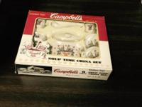 Campbell's tea set collectible This ad was posted with