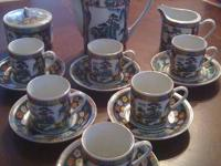 Have gorgeous 17 piece tea set for sale. The set