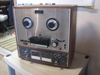 Teac Auto Reveres A-4010S Reel to Reel Tape Recorder.