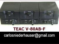 Teac V-80AB-F single deck airborne data recorder for