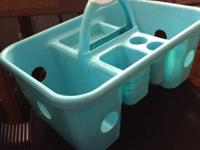 Shower caddy, trashcan, toothbrush holder, small