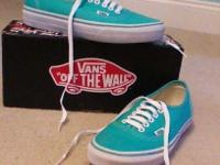 These Vans have never been worn and are in perfect