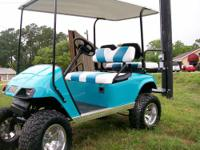 Whether you call it Teal or Torqoise this cart is sure