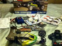 Up for sale today is a team associated b4.1 buggy.