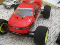 Team Losi mini truck. This is the larger scale mini...