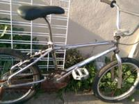 Bike is 20+ Years old all initial witht the exception