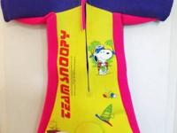 Team Snoopy Peanuts Youth Shorty Wet Suit  Youth size
