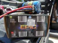 New motor ran in car one time Team Epic Motor 13.5