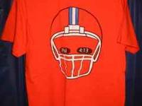 Tim Tebow bright orange t-shirt in great condition!