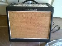 Tech 21 Trademark 10 guitar amp. I have a modest pick