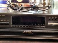 Up for sale is my Technics Compact 5 Disc Changer