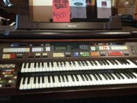 Technics Organ - Model F-5 - Serial #1232 $1500 Plus