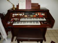 Program rhythm settings, full organ, piano, pipe organ,