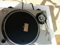 ONE Technics SL - 1200 MK2 Direct Drive Turntable. It