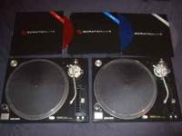 Selling two Technics SL-1210 M5G turntables, great