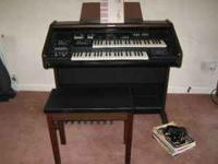 We have an Electronic Organ w/bench by Technics for