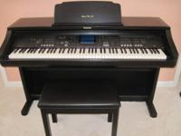 Technics SX-PR-702 Keyboard Digital Ensemble with bench