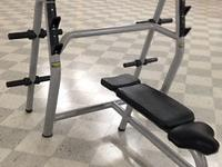 Multi-functional bench for particular training of the