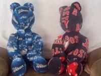 FOOT BALL , BASEBALL , BASKETBALL TEAMS TEDDIES BEARS