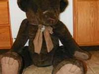 I am selling my giant (stands about 3 feet tall) teddy