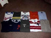 10 american eagle shirts 6 aero shirts all size large