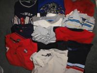Boys clothes for sale: condition and sizing of each
