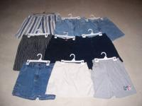 ~ Denim Stripe Shorts - Sz 20 Women's - $2. ~ Shorts