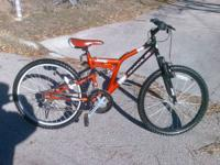 This is a JEEP COMMANCHE  LIMITED  mountain bike.  It