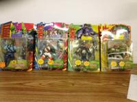 I am selling the hard to find 1995 Playmates TMNT