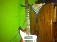 1965 Teisco Del Rey electric guitar. Has a great solid