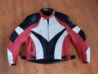 This Teknic leather sport bike caf motorcycle racing