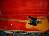 Very nice usa Tele '52' RI, very little use. It was