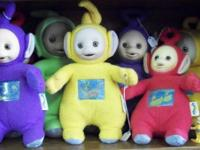 For sale is a plush Teletubbies doll. I have serval