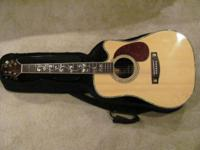 VERY NICE TELLURIDE ACCOUSTIC/ELECTRIC GUITAR WITH CASE