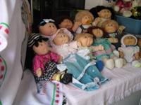 THIS FAMILY OF CP DOLLS,COME FROM A NON SMOKING HOME &