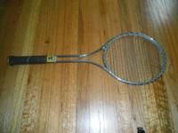 I AM SELLING MANY TENNIS RACKETS THAT WERE BURIED IN MY