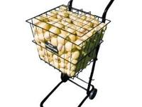 Tennis teaching cart with wheels. Holds 200 balls. NIB