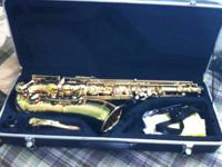 Hawk Tenor Saxophone. Super low mileage. Bought new a