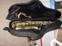 "Conn ""Olympian"" Tenor Saxophone. Totally refurbished."