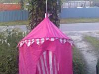 Tent-princess pink  20.00 obo. Text me or call @
