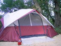 8 Man Northpole Tent A Sun Canopy (this may be dirty,