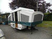 I have this coleman Taos tent trailer, used 4 times,