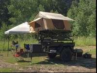 Camping has never been easier than it is with a roof