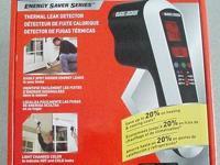 Black & Decker Thermal Leak Detector  Energy Saver
