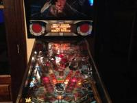 FOR SALE: Terminator 2 Pinball machine in wonderful