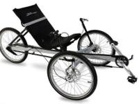 Selling my TerraTrike Rover 8 Speed Recumbent Trike.