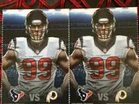 I have 2 tickets to the Texans vs Redskins on Sept 7th