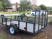 6' x 12' Open trailer great condition. Registered!