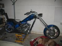 2004 AMERICAN IRON HORSE TEXAS CHOPPER 10500 MILES VERY