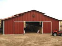 We are offering this Beautiful Classic Breezeway Barn